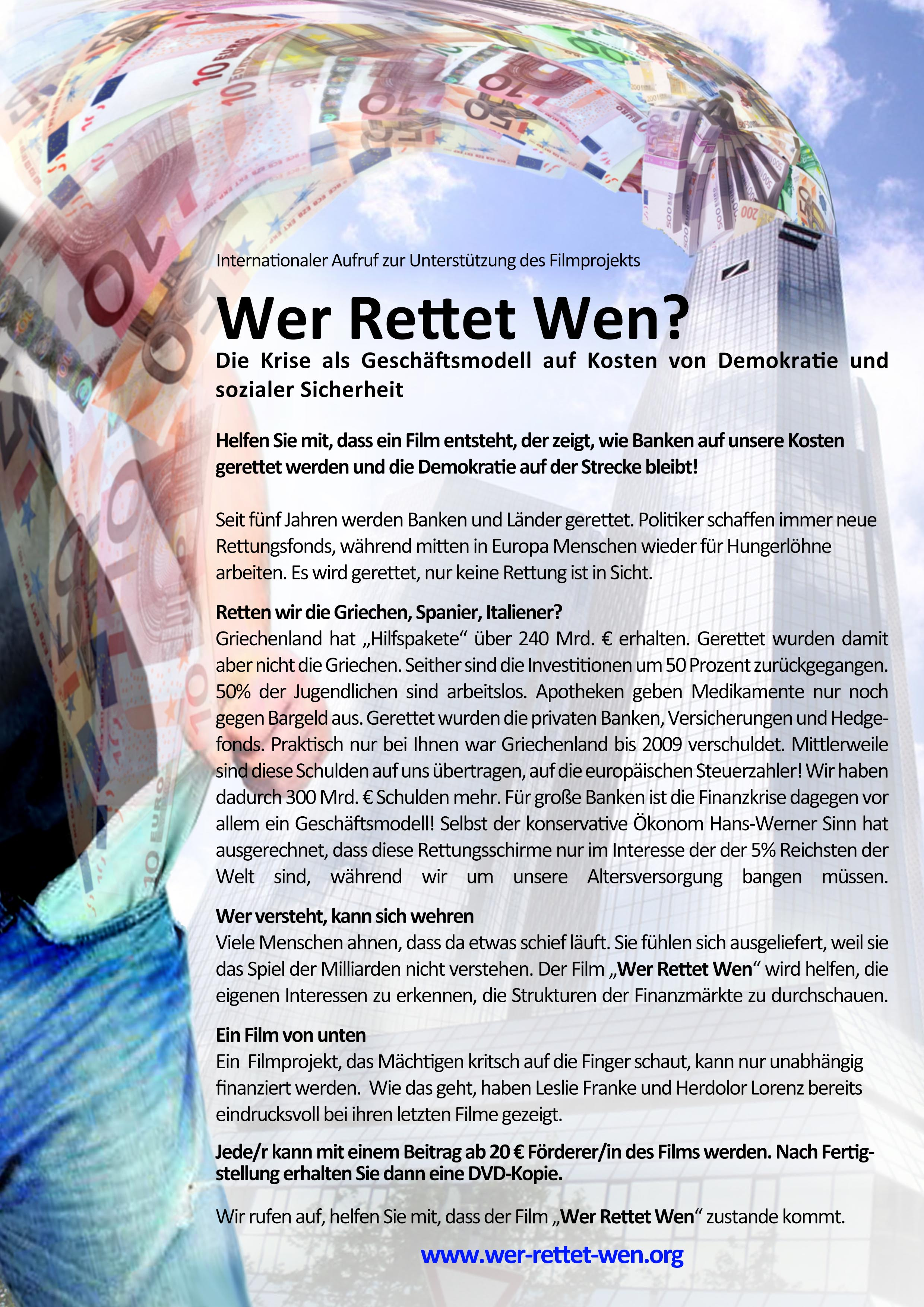 WerRettetWen Infoblattt